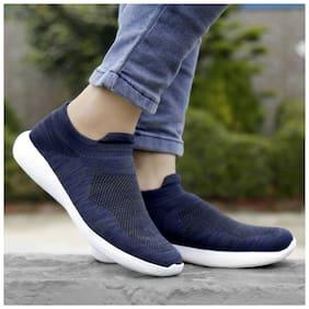 Inlazer Men Running Shoes ( Blue )