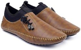 Inlazer Men Running Shoes ( Beige )