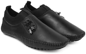 Inlazer Men Running Shoes ( Black )