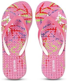Instride Women Pink Slippers