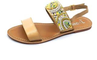 IRNADO Women Multi-Color Sandals