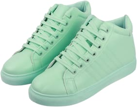 IRSOE Women Green Casual Shoes
