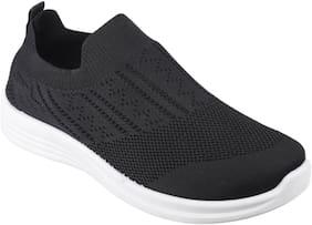 IRSOE Women Black Casual Shoes