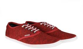 Jack & Jones Men Red Sneakers
