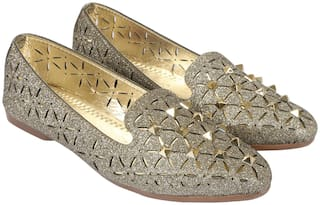 Jack N Union Women Gold Bellies