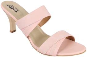 JASTA Women Pink Sandals
