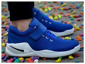 Jokatoo Men Running Shoes ( Blue )