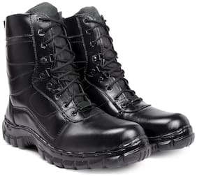 K KING Men Black Outdoor Boots