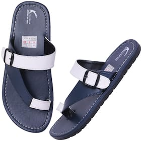 KANEGGYE Men Navy blue Outdoor slippers