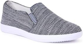 KANEGGYE Men Grey Casual Shoes