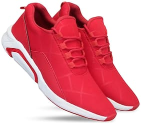 KASOL Men Red Casual Shoes