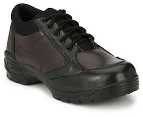 Kavacha Men Black Casual Shoes