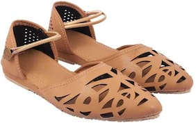 Kesar Designs Flats And Sandals For Women