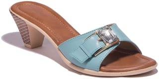 Khadim's Women Blue Peep Toes