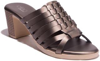 Khadim's Women Brown Peep Toes