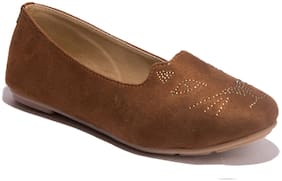 Khadim's Women Brown Bellie