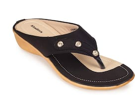 Khadim's Women Black Sandals
