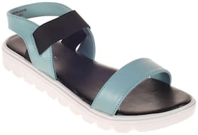 Khadim's Cleo Women Blue Casual  Sandal
