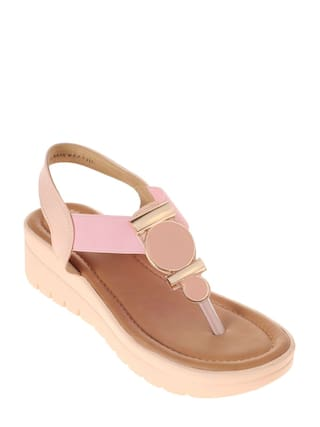 d88621b2af Buy Khadim's Women Pink Sandals Online at Low Prices in India ...