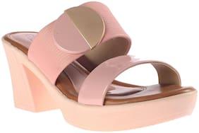 Khadim's Women Pink Peep toes