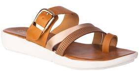 Khadim's Women Tan Sandals