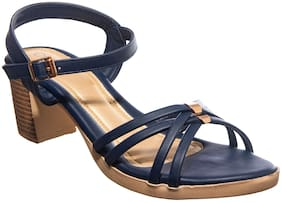 Khadim's Women Navy blue Pumps