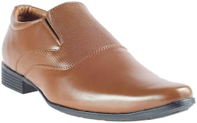 Khadim's Men Tan Formal Shoes