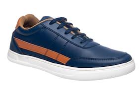 Men Navy Blue Classic Sneakers ,Pack Of 1 Pair