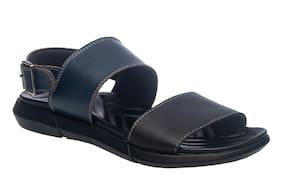 Khadim's Men Black Sandals