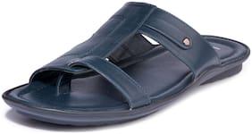 Khadim's Lazard Men Navy Casual Dress Sandal