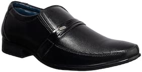 Men Black Slip-On Formal Shoes