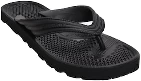 Khadim's Men Black Flip-Flops - 1 Pair