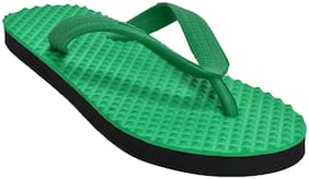 Khadim's Men Green Flip-Flops - 1 Pair