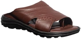 Khadim's Men Brown Sandals