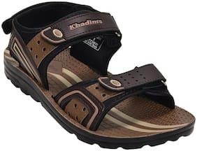Khadim's Men Brown Sandals -