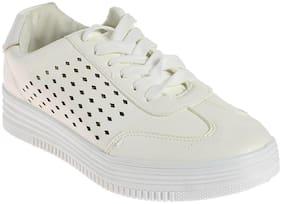 Khadim's Women White Sneakers