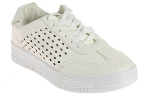 Khadim's Women White Sneakers