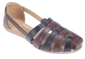 Khadim's Women Brown Sandals