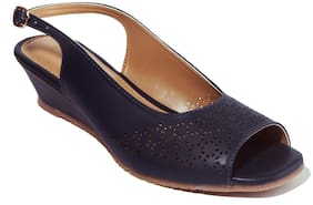 Khadim's Women Navy Blue Sandals