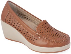 Khadim's Women Tan Casual Shoes