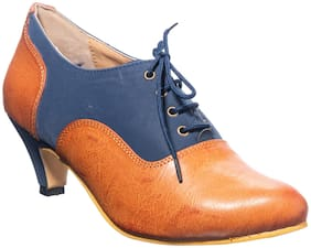 Khadim's Women Blue Pumps