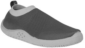 Men Grey Slip-On Sneakers