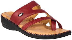 Khadim's Women Red Sandals