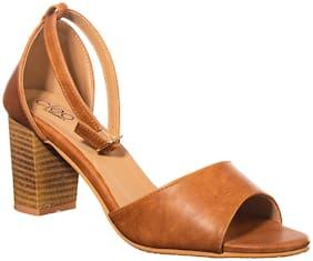 Women High Heels ( Brown )