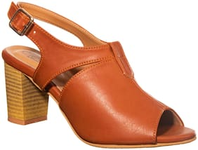 Khadim's Women Brown Pumps