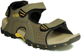 Khadim's Turk Men Olive Casual Floater Sandal
