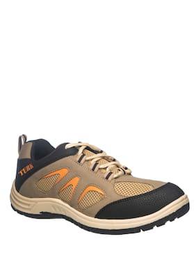 Men Tan Outdoor Boots