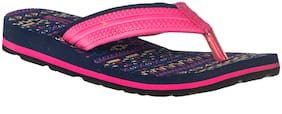 Khadim's Waves Women Pink Casual Indoor Flip-Flop