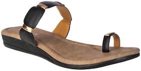 Khadim's Women Black Sandals