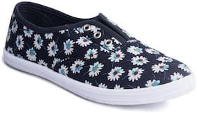 Khadim's Women Navy blue Sneakers